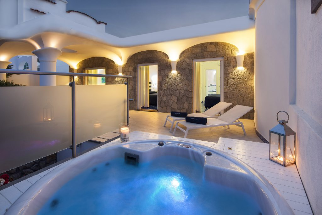 Appartamento Luxury vista giardino_ischia blu resort